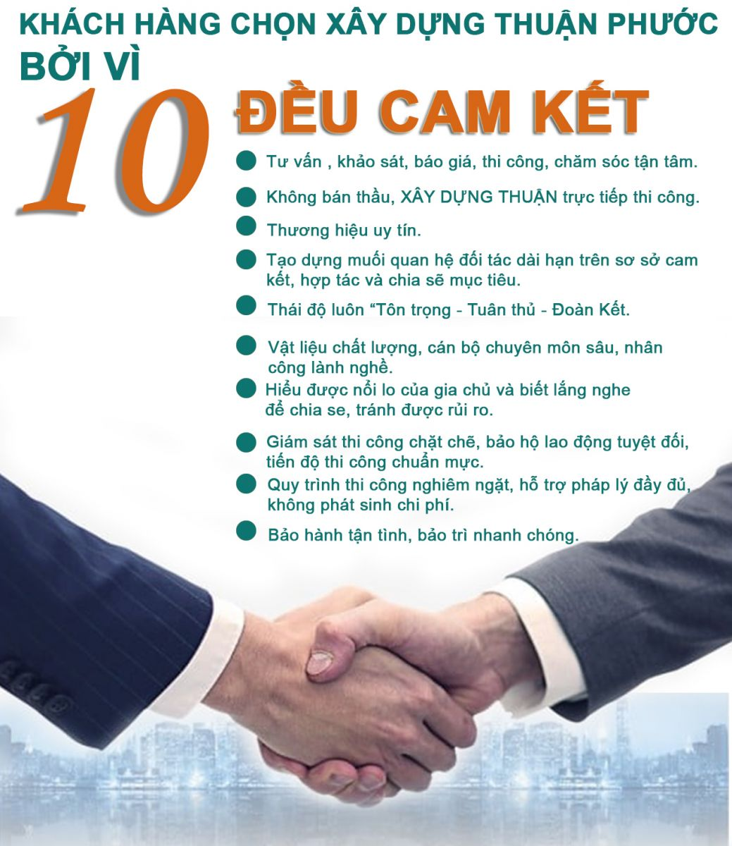 Cam kết xây dựng